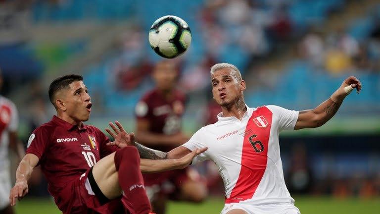 Venezuela y Perú igualaron sin goles