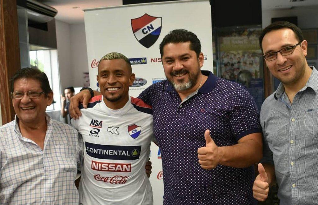 Resultado de imagen para club nacional uruguay farid diaz